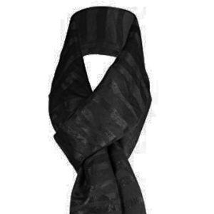 Calvin Klein Scarf Black/Black One Size